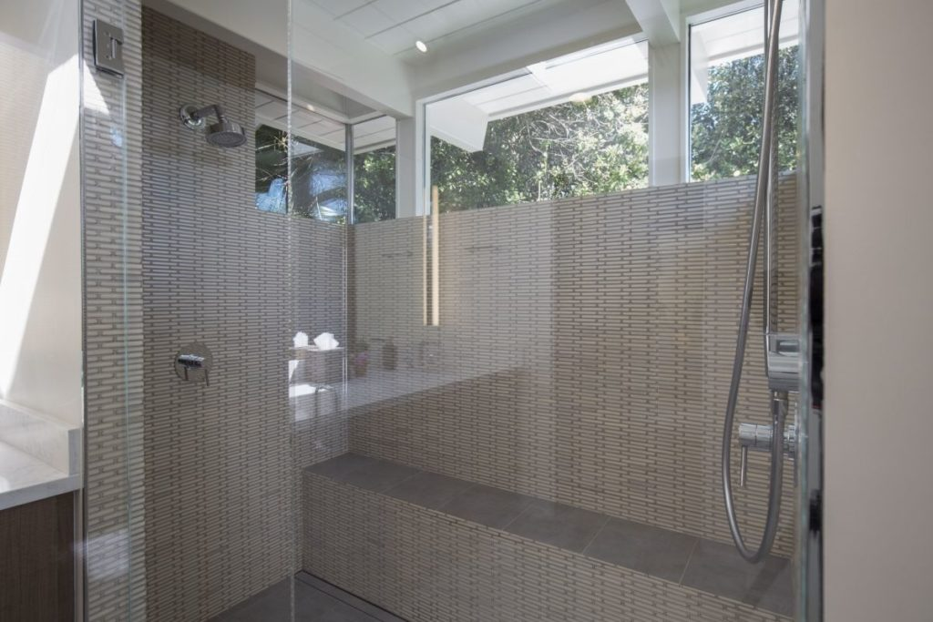 The Coolest Glass and Tile Shower