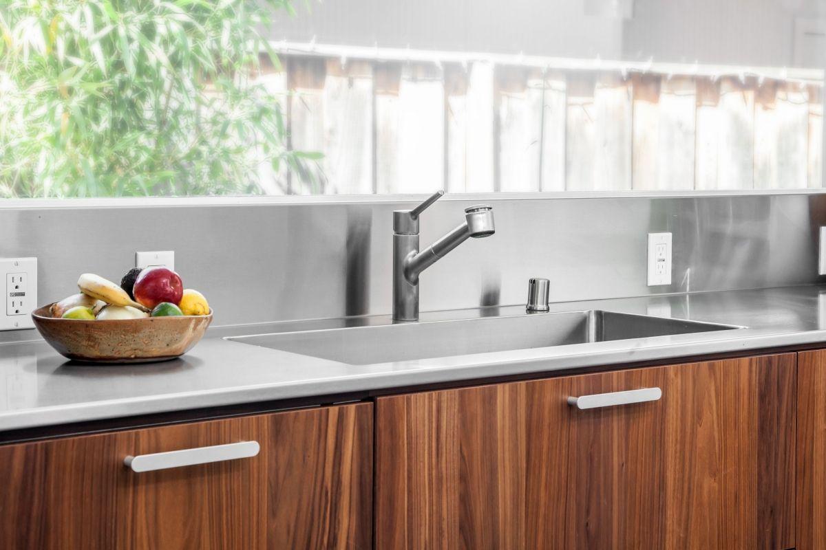 Kitchen Sink Close-Up