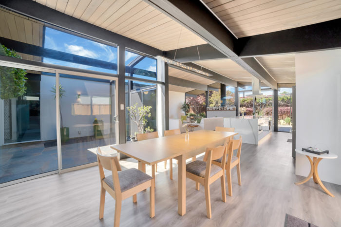 Keycon Eichler dining with a view