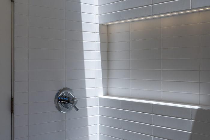 Take a rainshower in this Keycon-remodeled Eichler bath