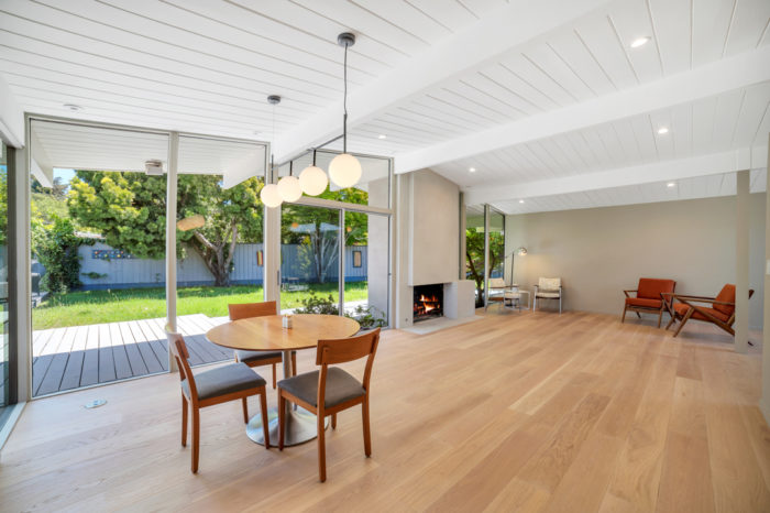 Lots of space in the Keycon-remodeled San Mateo Eichler