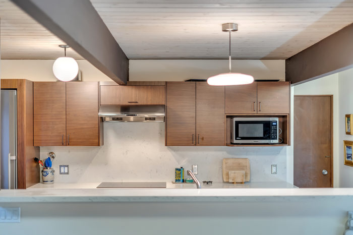 Everything within reach in this authentic MCM Keycon kitchen remodel