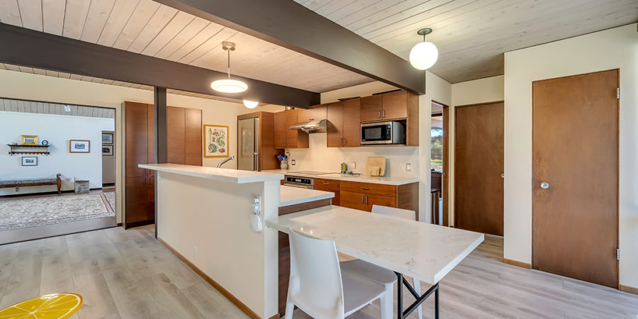 Eichler remodel connects multiple areas to maximize space and connection