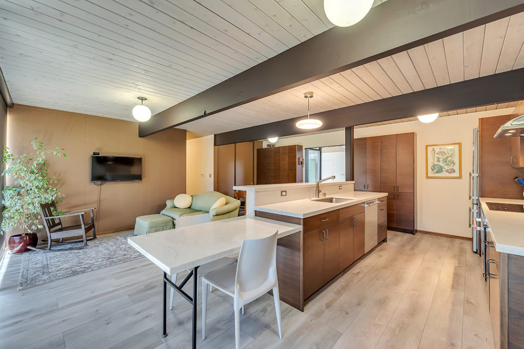 Eichler remodel delivers all the space you need with simple and elegant design